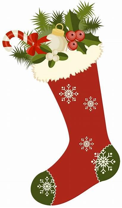 Christmas Stockings Clipart Stocking Retro Plain Ornaments