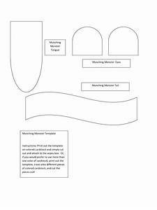 Monster template 2 free templates in pdf word excel for Template monstre