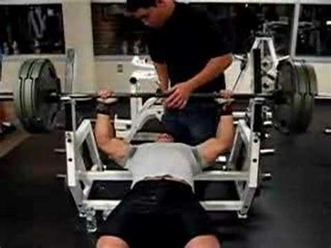Bench Press 405 At 175 Lbs Youtube