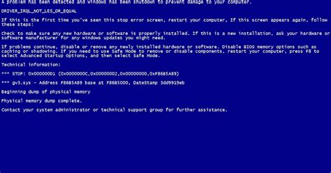 Computer Tips And Tricks Create Fake Blue Screen Of Death