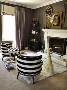 le fauteuil zebre dans 40 photos inspirantes With tapis de course pas cher avec canapé style baroque moderne