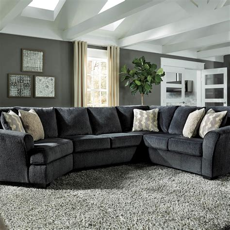 Cuddler Loveseat by Signature Design By Eltmann 3 Pc Sectional Laf