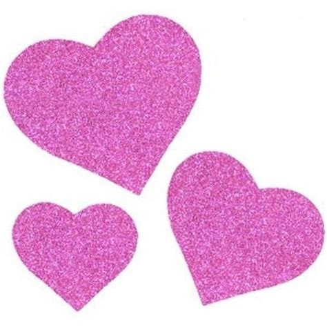 tappeti fucsia cuori in glitter mousse colore fucsia fashion