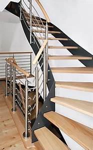 Stahltreppe Mit Holzstufen : schreinerei fitzner scholz gnotzheim am spielberg ~ Orissabook.com Haus und Dekorationen