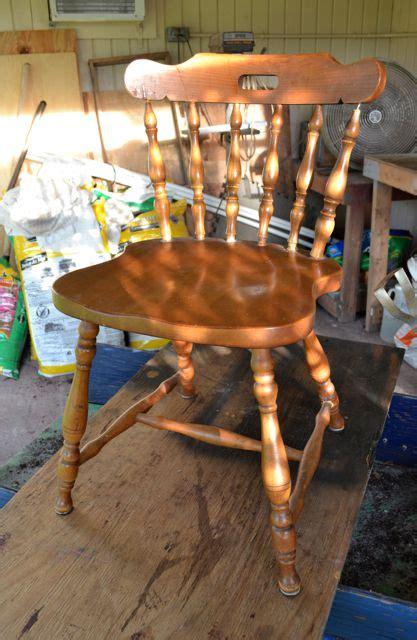 refurbish  wooden chair