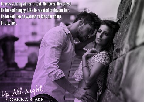 Release Blitz Up All Night By Joanna Blake