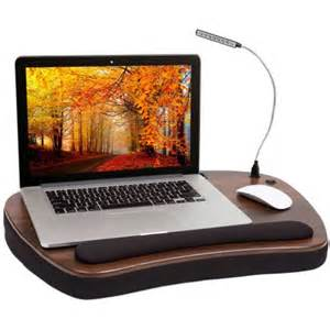 sofia sam oversized memory foam lap desk with wrist rest