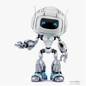 Cute Robot 3d Model  U2022 Buyourobot