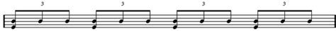 How to notate triplets in written music. Drum Lessons | Definition of Triplets