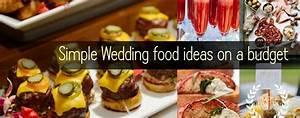 Simple Wedding Food ideas on a budget OurWeddingSupplies com