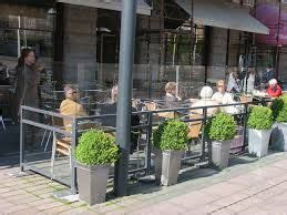 image result  terrace screens  cafe barriers