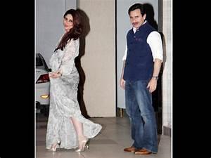Kareena Kapoor & Saif Ali Khan walk at mom's Babita 69th ...