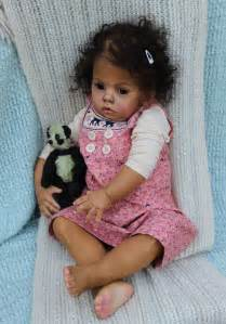 Black AA Toddler Reborn Babies Dolls