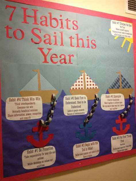 7 back to school and 7 habits sailboats education ideas back to back to school and sailboats