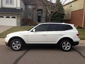Bmw X3 2008 : find used beautiful 2008 bmw x3 alpine white beige leather black interior in aurora ~ Medecine-chirurgie-esthetiques.com Avis de Voitures
