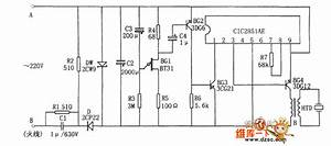 Cic2851ae Rice Cooker Reactor Circuit - Signal Processing - Circuit Diagram