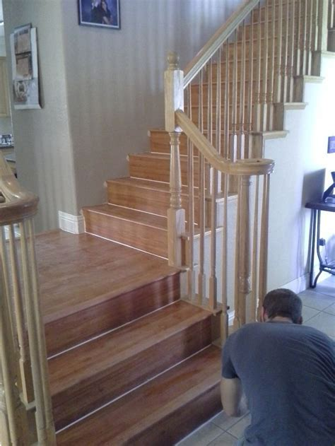 Laminate stairs   Flooring   Pinterest   Stairs and