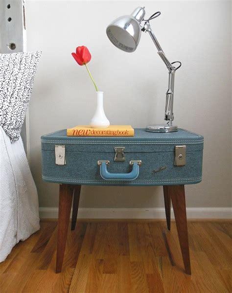 nachttisch selber machen trendy m 246 bel aus alten koffern zum selbermachen