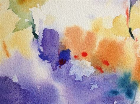 Nass In Nass Technik by In Watercolor Painting Tips Tricks