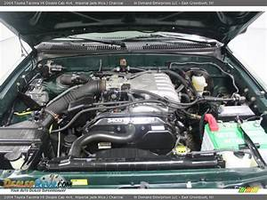 2004 Toyota Tacoma V6 Double Cab 4x4 3 4l Dohc 24v V6