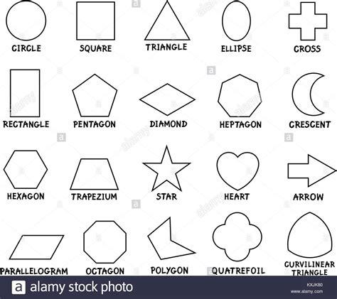Bild Geometrische Formen by Schwarze Und Wei 223 E Illustration Der P 228 Dagogischen