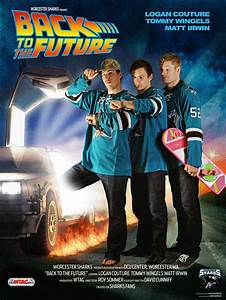 """""""Back to the Future"""" starring @San Jose Sharks players ..."""