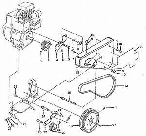 Craftsman Model 917298231 Front Tine  Gas Tiller Genuine Parts