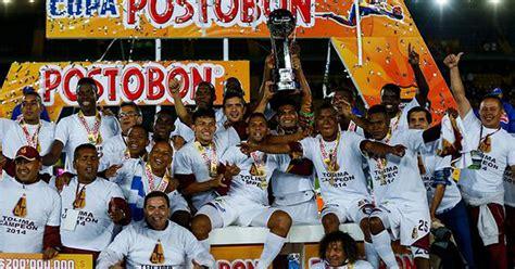 Tolima, Campeón De La Copa Postobón