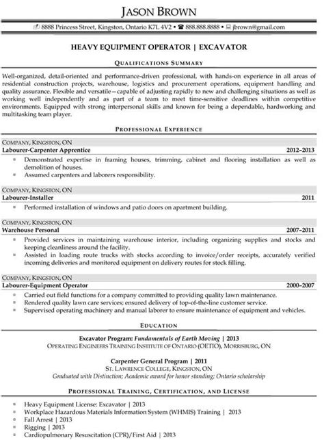 Resume Build Up by Construction Resume Exles Business Resume
