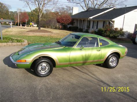 1973 Opel Gt For Sale by Opel Other Coupe 1973 Green For Sale Oy07nc2028304
