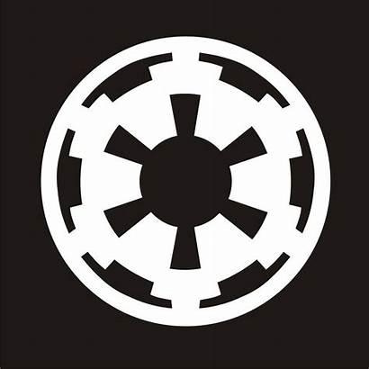 Wars Star Symbol Empire Galactic Imperial Emblem