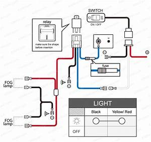 Led Driving Light Wiring Diagram