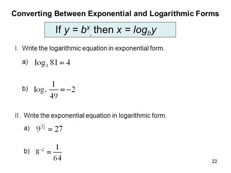 how to write an expression in exponential form exponential and logarithmic functions ppt download