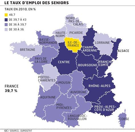chambre de commerce du lot emploi des seniors les régions françaises à la traîne de