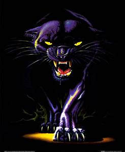 Black Panther Red Eyes