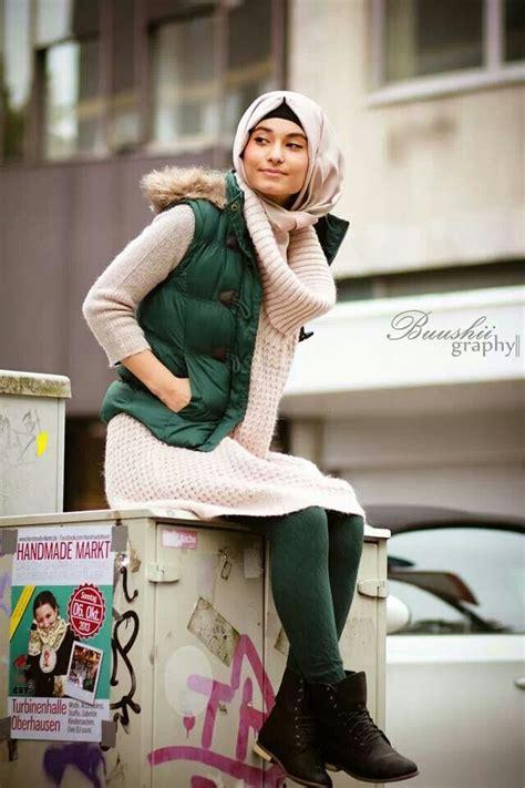 winter fashion ideas hijab styles perfect   weather  hijabiworld