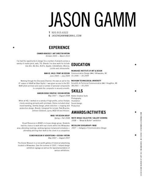 15 clean and creative resume for your inspiration