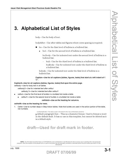 visa style guide book design wow factor writing
