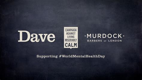 Dave and CALM partner with Murdock London Barbers for ...