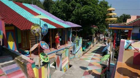 kampung ragam warna destinasi wisata   kendal