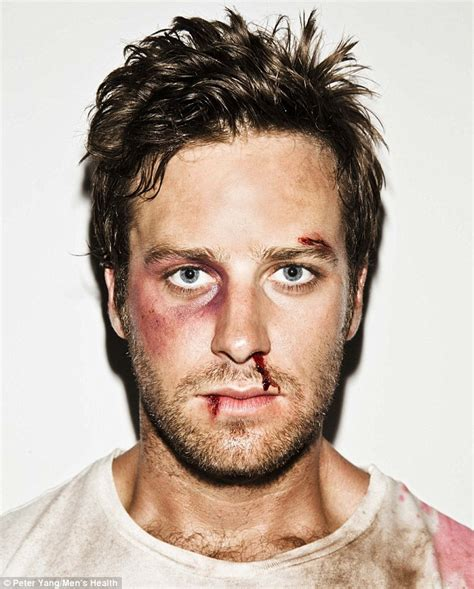 Armie Hammer shows off his tough side - Oh No They Didn't ...