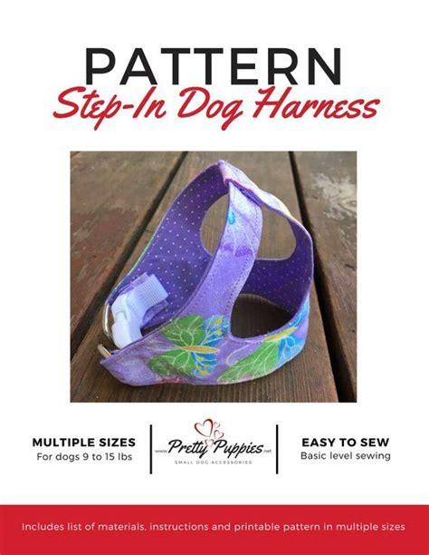 pattern   step  dog harness sizes