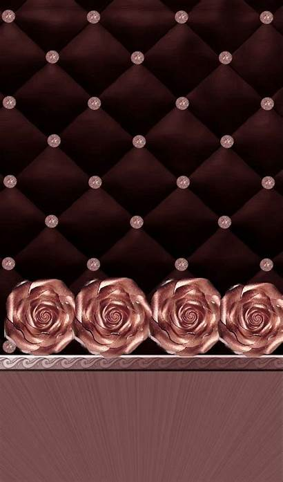 Rose Iphone Wallpapers Bling Fondos Backgrounds Phone