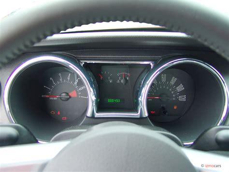 image  ford mustang  door coupe premium instrument