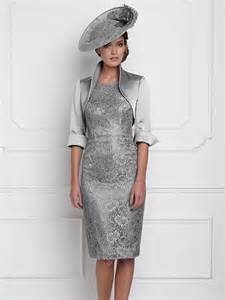 robe ã lã gante pour mariage nouveau design argent genou longueur mère de la mariée tenue de soirée de mariage robe élégante