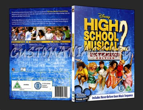 High School Musical 2  Dvd Covers & Labels By
