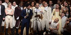 U0026 39 Hamilton U0026 39  Breaks Record With 16 Tony Award Nominations