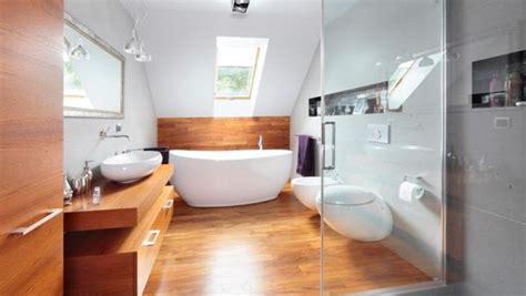 interior of log homes wooden floor in 20 bathroom designs rilane