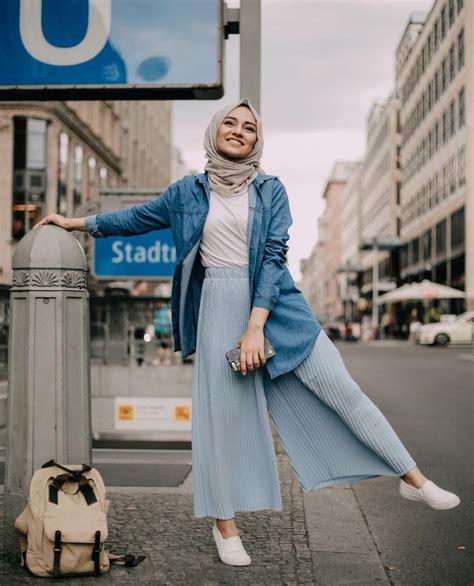 esa mafatihurrahmah gaya ootd hijab casual