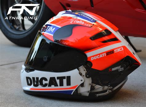 hand painted ducati desmosedici gp helmet